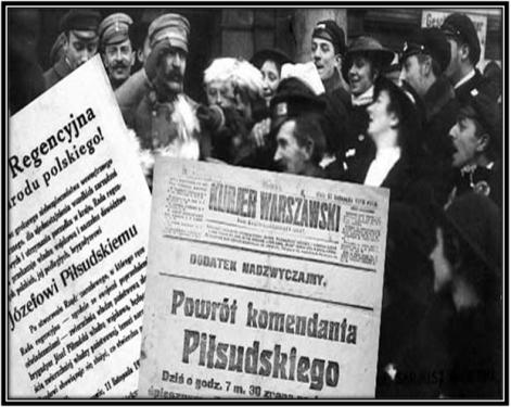 11 LISTOPADA 1918 ROKU-  JÓZEF PIŁSUDSKI INIEPODLEGŁOŚĆ POLSKI.
